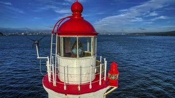 lighthouse Tokarevskiy  Vladivostok Russia photo