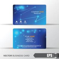 Business Card template background vector