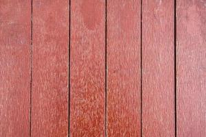 Painted red brown plank wooden texture photo