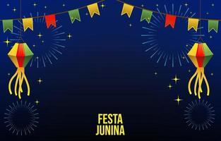 festa junina festivy vector