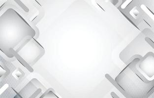 White Geometric Background Template vector