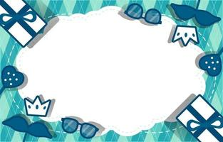 Paper Style Father's Day Background vector