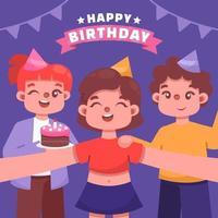 Birthday Party Concept vector