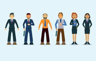 Business People Character Collection vector