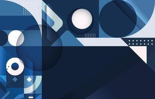Modern Futuristic Abstract Template vector