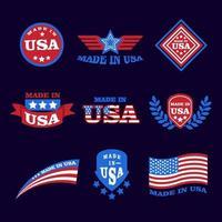 Made in USA Logo vector