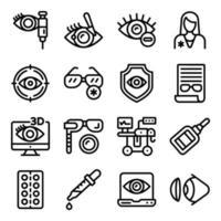 Pack of Optics vector
