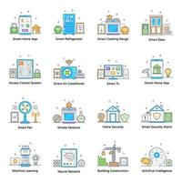 Smart Devices and Home Appliances vector