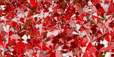 Light Orange vector texture with random triangles.