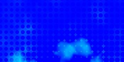 textura de vector azul claro con discos.