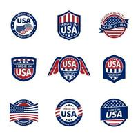 Quality Standard Product of America vector