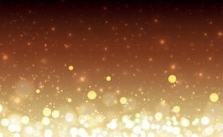 Bright bokeh with highlights on a dark background vector