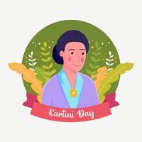 Kartini Day Celebration vector