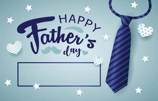 Happy Father's Day Background vector