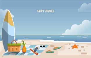 Summer Beach Holiday vector