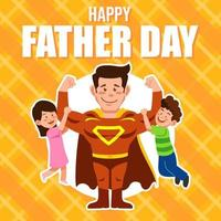 Happy Father Day vector