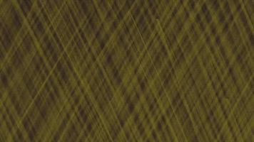 Motion abstract geometric yellow lines on black textile background video
