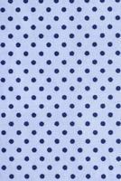 Blue polka dot fabric texture photo