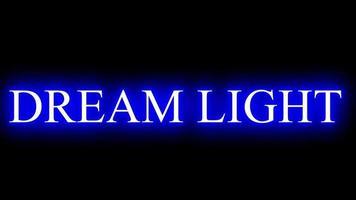 lumière de rêve lumières colorées video