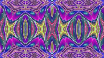 Vivid Kaleidoscope with Bright Ornaments video