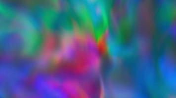 Flowing Rainbow Glowing Background video