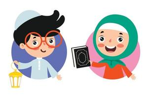 Hand Drawn Illustration For Ramadan Kareem And Islamic Culture vector
