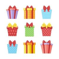 Colourful Gift Collection vector