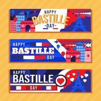 Bastille Day in France vector