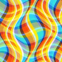 Abstract psychedelic pattern design vector