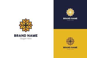 Lotus Logo Design, Lotus Flower Logo Vector