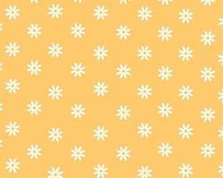 Patterns flower White spring flower vector