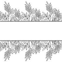 bitterwood frame border vector