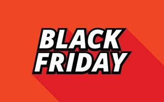 Text Effect Black Friday vector