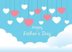 Happy Father Day vector design
