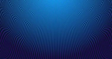 Vibrant abstract vector background with blue and violet waving parallel lines