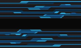 Abstract blue grey cyber circuit pattern vector