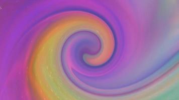 Bright Neon Glowing Pink Swirl Background video