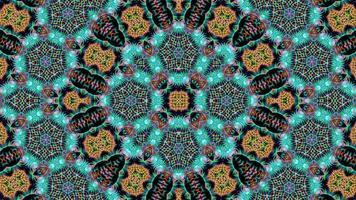 Abstract Kaleidoscope Texture Background video