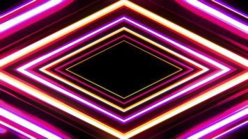 fond de tunnel de diamant vif video