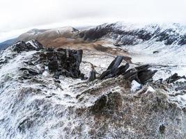 Mountains in Snowdonia photo