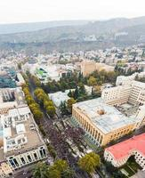 Tbilisi, Georgia, 2020 - Post-election protests in Tbilisi photo
