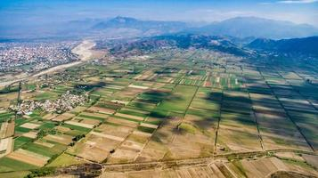 Fields and crops in Albania photo