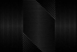 abstract black background with diagonal lines pattern design vector