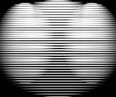Abstract warped Diagonal Striped Background vector