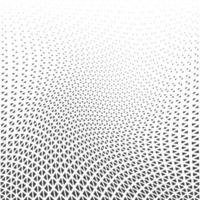 Abstract geometric graphic design print halftone triangle pattern vector
