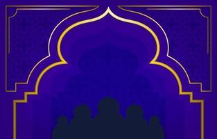 Eid Adha Background Concept vector