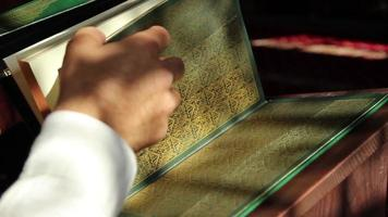 Alcorão do livro sagrado islâmico video