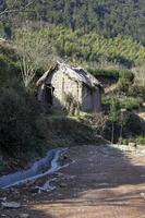 An abandoned home photo