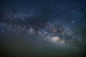 Milky way galaxy at Tar desert, Jaisalmer, India. Astro photography. photo