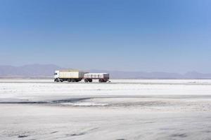 salt flat in uyuni bolivia altiplano photo